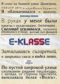 Леонид Левин -E-klasse