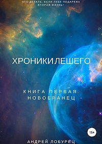 Андрей Михайлович Лобурец -Хроники Лешего. Книга первая. Новобранец