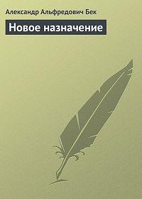 Александр Бек -Новое назначение