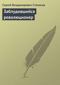 Сергей Владимирович Степанов -Заблудившийся революционер