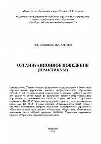 Вячеслав Воробьев -Организационное поведение (практикум)