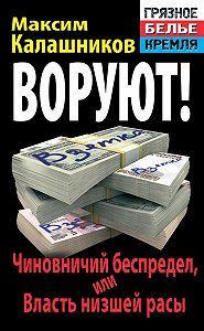 Максим Калашников -Воруют! Чиновничий беспредел, или Власть низшей расы