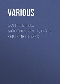 Various -Continental Monthly, Vol. 4, No 3, September 1863