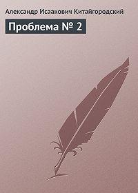 Александр Китайгородский - Проблема № 2