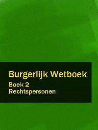 Nederland - Burgerlijk Wetboek boek 2
