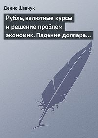 Денис Шевчук -Рубль, валютные курсы и решение проблем экономик. Падение доллара 2009-2015