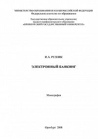 Инна Резник - Электронный банкинг