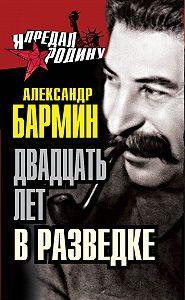 Александр Бармин -Двадцать лет в разведке