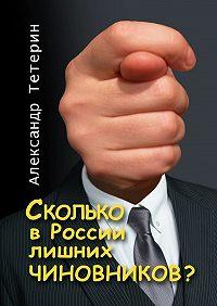 Александр Тетерин -Сколько в России лишних чиновников?