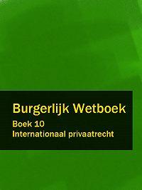 Nederland -Burgerlijk Wetboek boek 10
