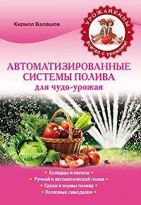 Кирилл Балашов -Автоматизированные системы полива для чудо-урожая