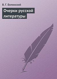В. Г. Белинский -Очерки русской литературы