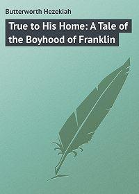 Hezekiah Butterworth -True to His Home: A Tale of the Boyhood of Franklin