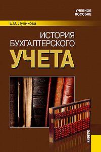 Елена Лупикова -История бухгалтерского учета