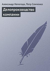 Александр Непогода -Делопроизводство компании
