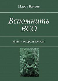 Марат Валеев -Вспомнить ВСО. Мини-мемуары ирассказы