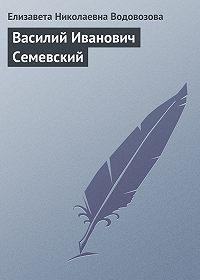 Елизавета Водовозова -Василий Иванович Семевский