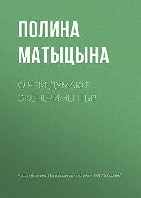 Полина Матыцына -О чем думают эксперименты?