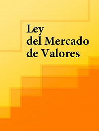 Espana - Ley del Mercado de Valores