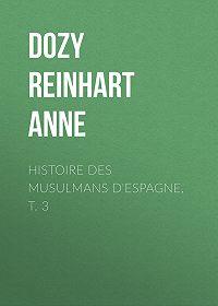 Reinhart Dozy -Histoire des Musulmans d'Espagne, t. 3