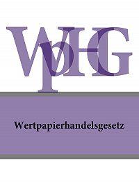 Deutschland -Wertpapierhandelsgesetz – WpHG