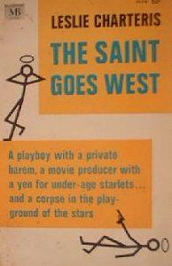 Лесли Чартерис -Святой едет на Запад