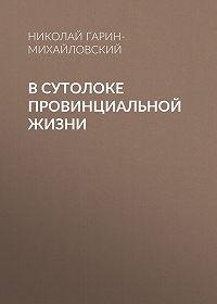 Николай Гарин-Михайловский -В сутолоке провинциальной жизни