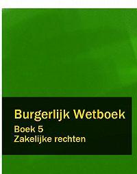 Nederland - Burgerlijk Wetboek boek 5