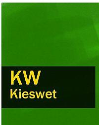 Nederland -Kieswet – KW