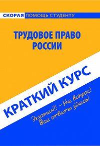 Коллектив авторов -Трудовое право России. Краткий курс