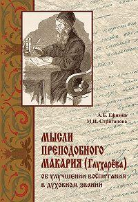Андрей Ефимов, А. Стриганова - Мысли преподобного Макария (Глухарёва) об улучшении воспитания в духовном звании