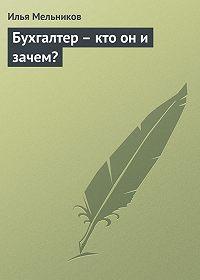 Илья Мельников -Бухгалтер – кто он и зачем?