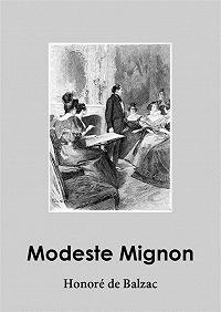 Honoré de -Modeste Mignon