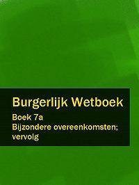 Nederland - Burgerlijk Wetboek boek 7a