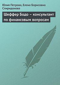 Елена Борисовна Спиридонова -Шеффер Бодо – консультант по финансовым вопросам