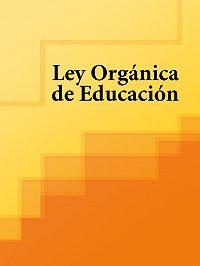 Espana -Ley Organica de Educacion