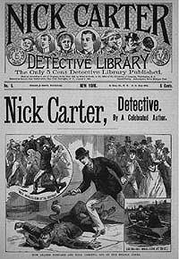 Ник Картер -Человек-вампир