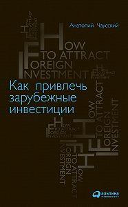 Анатолий Чаусский -Как привлечь зарубежные инвестиции