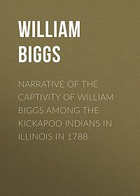 William Biggs -Narrative of the Captivity of William Biggs among the Kickapoo Indians in Illinois in 1788