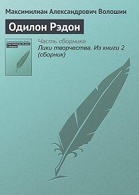 Максимилиан Александрович Волошин -Одилон Рэдон