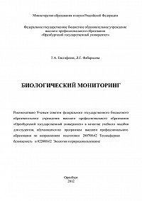 Татьяна Евстифеева -Биологический мониторинг