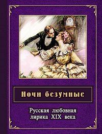 Борис Тимофеевич Евсеев - Ночи безумные. Русская любовная лирика XIX века