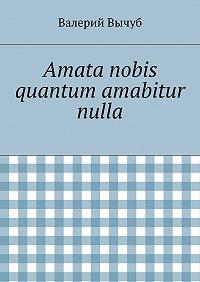 Валерий Вычуб -Amata nobis quantum amabitur nulla