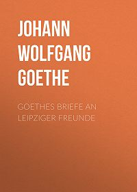 Johann Wolfgang -Goethes Briefe an Leipziger Freunde