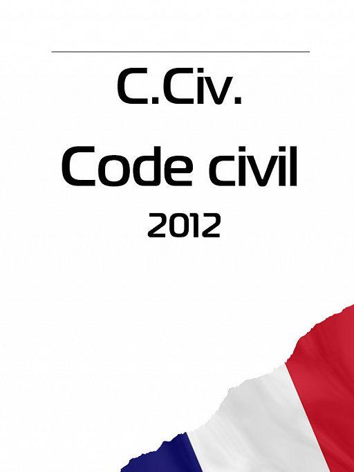 C. Civ. Code civil 2012