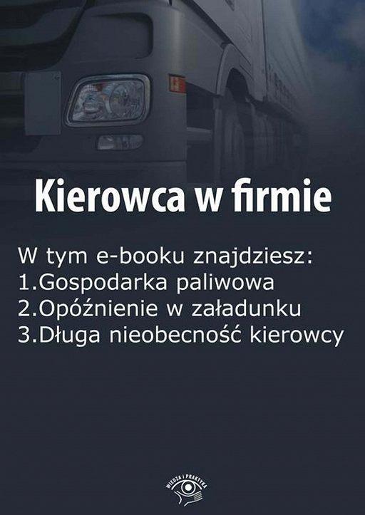 Kierowca w firmie, wydanie styczeń-luty 2016 r.